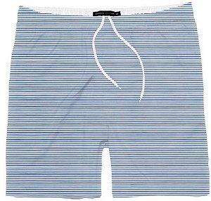 Short Menino Praia Listrado Azul King & Joe 10 ao 16