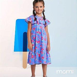 Vestido Momi Verão 2022 Morangos