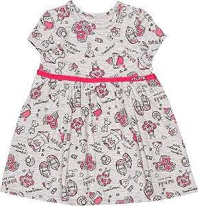 Vestido Momi Bebe Verão 2022 Baby Fun