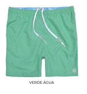 Shorts Masculino Praia Colors King & Joe Verde Água 02 ao 08