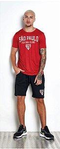 Camiseta São Paulo Vermelho Licenciado