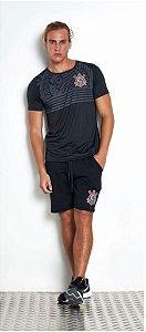 Camiseta Corinthians Preto Licenciado