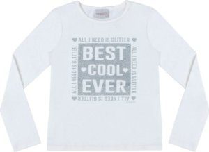 Blusa Momi Ml Best Cool Ever