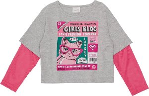 Blusa Momi ML Girls Blog