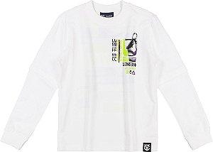 Camiseta T-Shirt ML Youccie Skate Puro Algodao