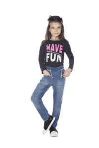 Calça Jeans Feminina Clochard Confort