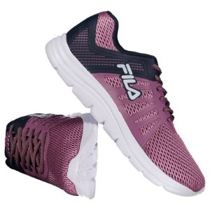 Tênis Feminino Fila Finder Rosa Bordo