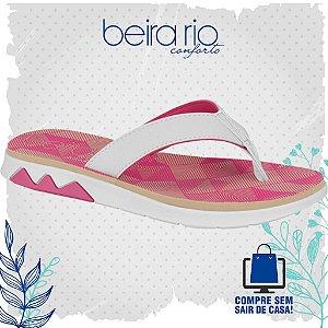Sandália Beira Rio Napa Floter Rustico Neo Pink