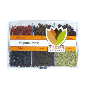 Kit para Drinks Ginger Temperos