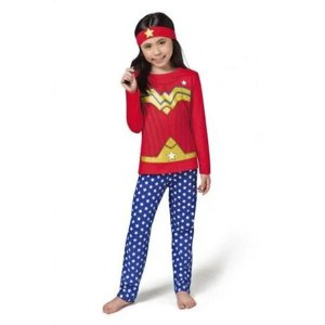 Pijama mulher maravilha longo