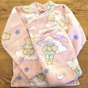Pijama soft rosa