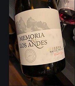 Memória de Los Andes reserva Pinot Noir