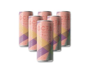 Oceà Rosé de Verano: 269mL (Pack 06 latas)  - R$10,99/unid