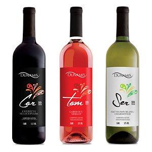 Kit de Vinhos de Entrada Dunamis