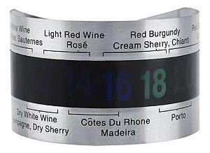 Termômetro Externo para Garrafa de Vinho