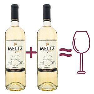 Kit com dois Hidromel + uma taça personalizada Meltz