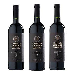 Kit de Vinhos Reserva Bebber