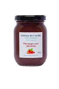 Geleia de Morango com Pimenta
