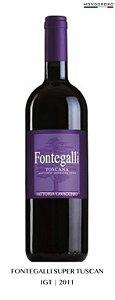 FONTEGALLI SUPER TOSCANO IGT  2011 14,00% 0,75L