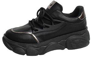 Tênis Sneaker Quiz Preto