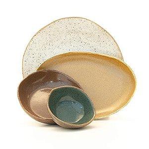 Composição Mesa Linda - San.Olí Cerâmica Artesanal