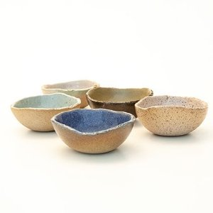 Conjunto Mini Bowls - San.Olí Cerâmica Artesanal