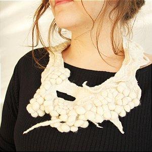 Colar Mold Branco - Lúcia Higuchi