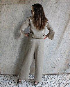 Calça Luiza Kaki - Studio Lica Soares