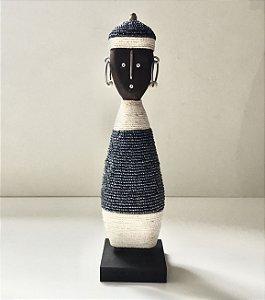 Boneca Nandji Azul Masculina Baka Studio