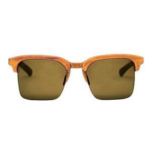 Óculos de Sol Modelo Falésia João Baiano em Peroba Rosa Hayô
