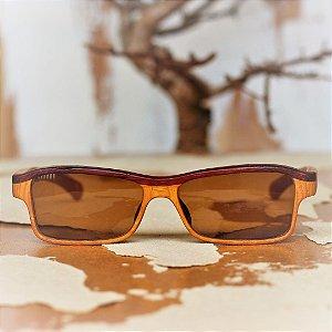 Óculos de Sol Modelo Essencial João Baiano em Jatobá Hayô