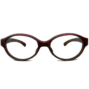 Armação para Óculos Modelo Infinito Pixoxó em Jatobá Hayô
