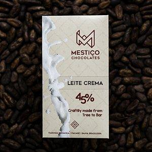 Chocolate Leite Crema 45% Cacau Mestiço Chocolates