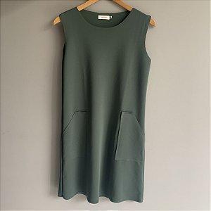 Vestido Atemporal Verde Martina Vaz