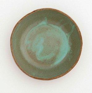 Bowl Verde Mescla Para Caldo – Coleção Mesa Rústica Sandra Oli Cerâmica