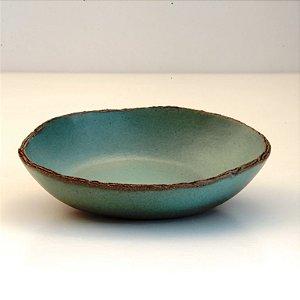 Bowl Verde Para Caldo – Coleção Mesa Rústica Sandra Oli Cerâmica