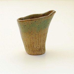 Molheira Verde – Coleção Mesa Rústica Sandra Oli Cerâmica