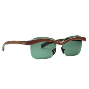 Óculos de Sol Modelo Gaivota Pixoxó em Jatobá Hayô