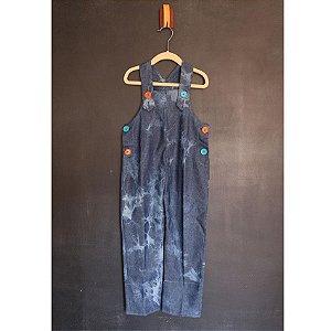 Macacão Tie Dye Jeans - BaGuBi