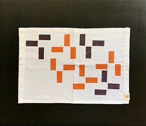 Jogo Americano Retângulos Coordenados Tapirusprint (dupla)