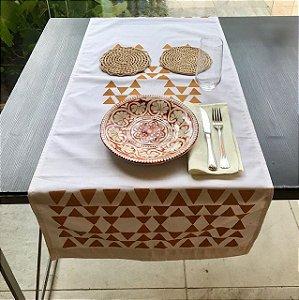 Tête-a-tête ESTRELA INCA Mostarda Tapirusprint