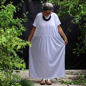Vestido Bianco Luau Zona de Conforto