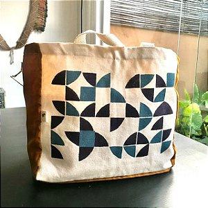 Bolsa em lona - Catavento azul - tapirusprint