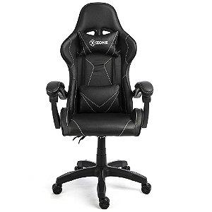 Cadeira Gamer Xzone CGR-01 BW Preta Premium