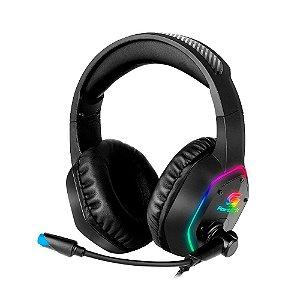 Headset Gamer Fortrek RGB Blackfire Preto