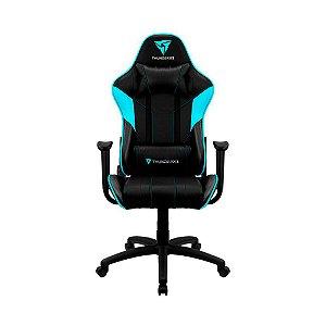 Cadeira Gamer Thunderx3 EC3 Preto/Ciano