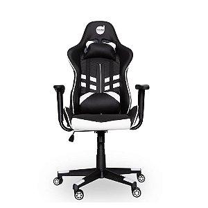 Cadeira Gamer Dazz PrimeX Preto/Branco