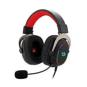 Headset Gamer Redragon Zeus X RGB USB 7.1 H510-RGB Preto