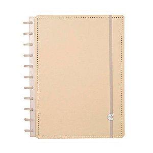 Caderno Inteligente Amarelo Pastel Grande