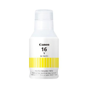 Garrafa de Tinta Canon GI-16 Amarelo GX6010 e GX7010